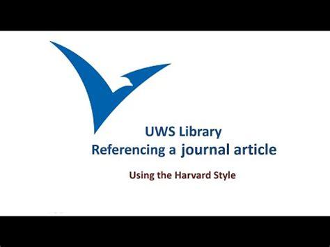 Referencing case studies harvard style